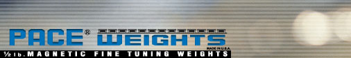 Pace Weights - ½ lb Magnetic Fine-Tuning Weights